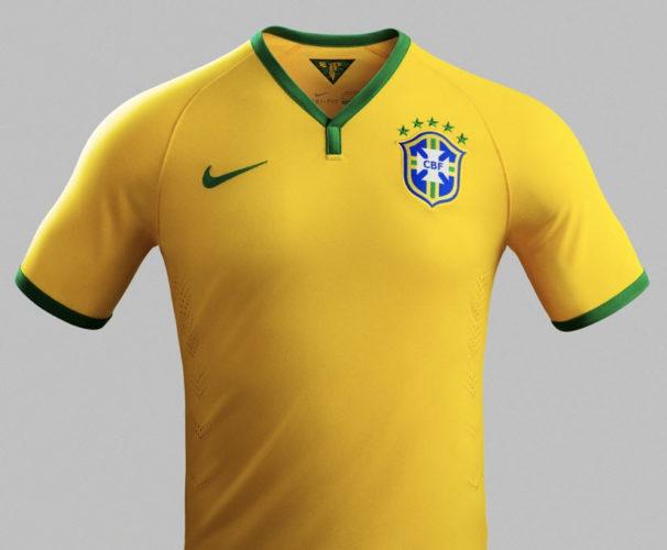 Das WM 2014 Trikot von Brasilien