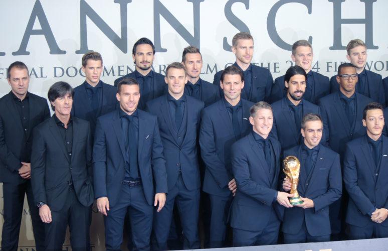 Die deutsche Mannschaft will nach ihrem Titelgewinn 2014 in Brasilien nun auch in Russland wieder für Furore sorgen. Photo: Shutterstock