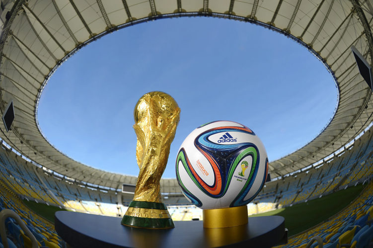 Der offizielle Spielball 2014 - der Brazuca