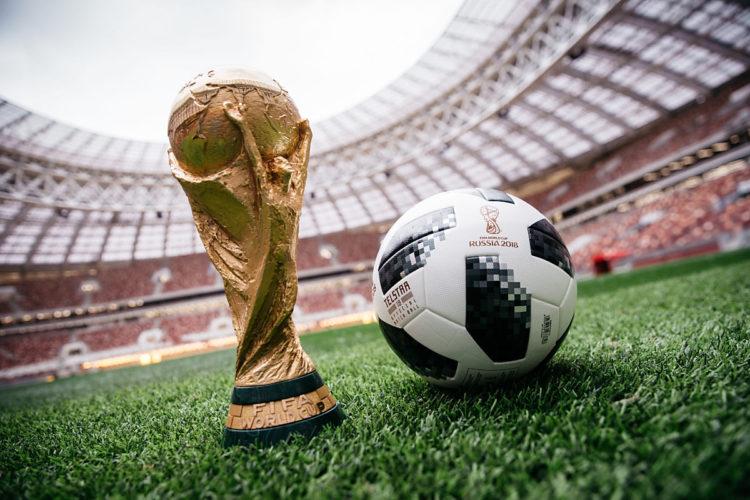 Der neue WM 2018 Spielball: der Telstar 18!