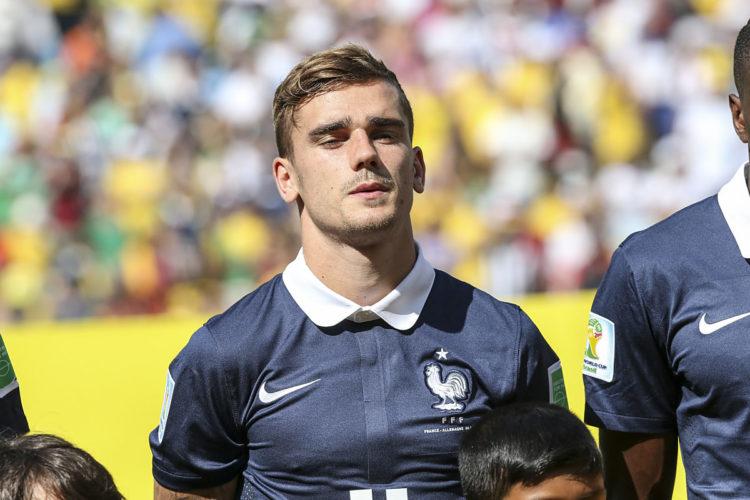 Antoine Griezmann aus Frankreich - Hoffnung auf den Weltmeistertitel? (Foto Shutterstock)
