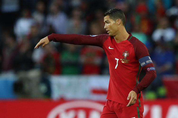 Christiano Ronaldo aus Portugal - Europameister 2016 und bald Weltmeister 2018? (Foto shutterstock)