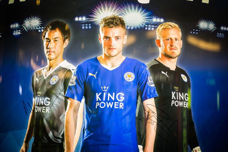Jamie Vardy - nach dem Abgang von Wayne Rooney neben Harry Kane der Stürmerstar bei den Three Lions (Foto Shutterstock)