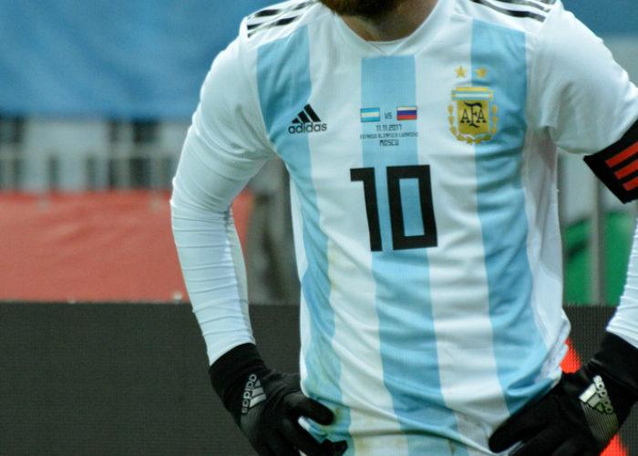 Lionel Messi – Superstar aus Argentinien im neuen Heimtrikot (Foto Shutterstock)