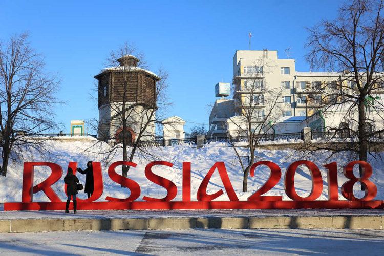 Russland freut sich auf das WM-Eröffnungspiel bei der WM 2018 am 14.Juni 2018 in Moskau. (Foto AFP)