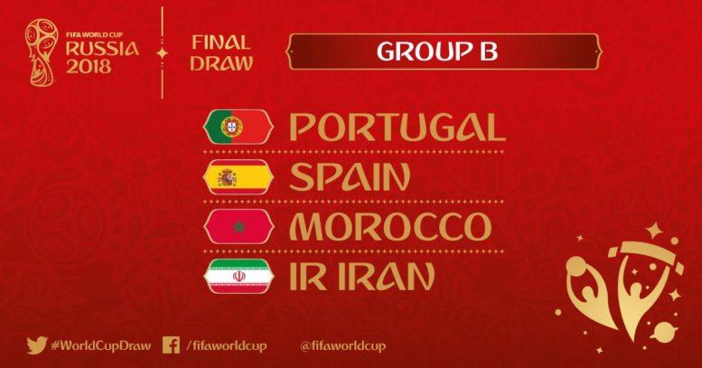 Wer spielt in WM-Gruppe B? (Foto FIFA)