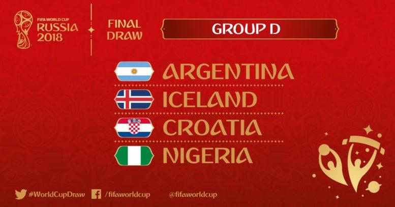 Wer spielt in WM-Gruppe D? (Foto FIFA)