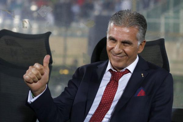 Der portugiese Carlos Queiroz ist Nationaltrainer Irans. Copyright: AFP.