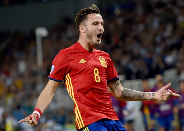 Saul von Atletico Madrid ist eine der größten Hoffnungen für die Zukunft der spanischen Nationalmannschaft. Photo: AFP.