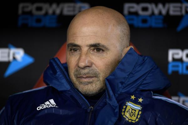 Jorge-Sampaoli ist Argentiniens Trainer für die WM 2018. Copyright: AFP.