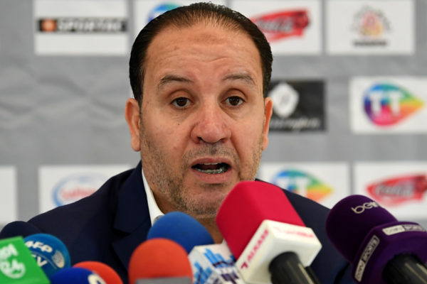 Tunesiens Trainer Nabil Maaloul. Copyright: AFP.