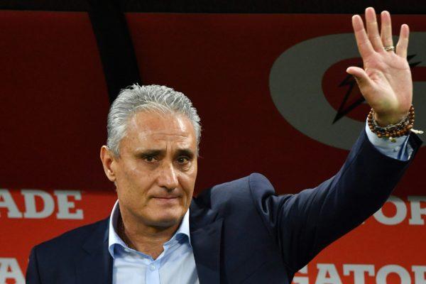 Brasiliens Trainer Tite. Copyright: AFP.