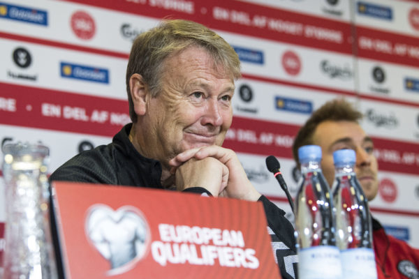 Dänemarks norwegischer Trainer Age Hareide. Copyright: AFP.