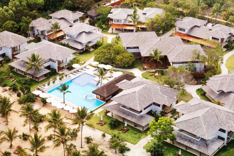 Das Mannschaftsquartier 2014 von Deutschland - das Campo Bahia Hotel in Brasilien.