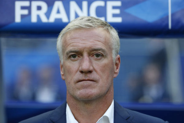 Frankreichs Nationaltrainer Didier Deschamps im Juni 2015. AFP Photo.