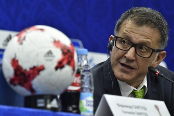 Mexikos Trainer Juan Carlos Osorio. Copyright: AFP.