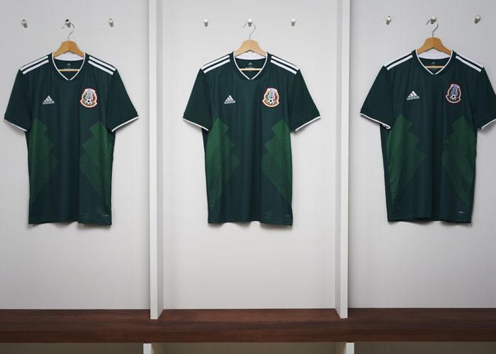 Die neuen Mexiko WM Trikots 2018 von adidas.