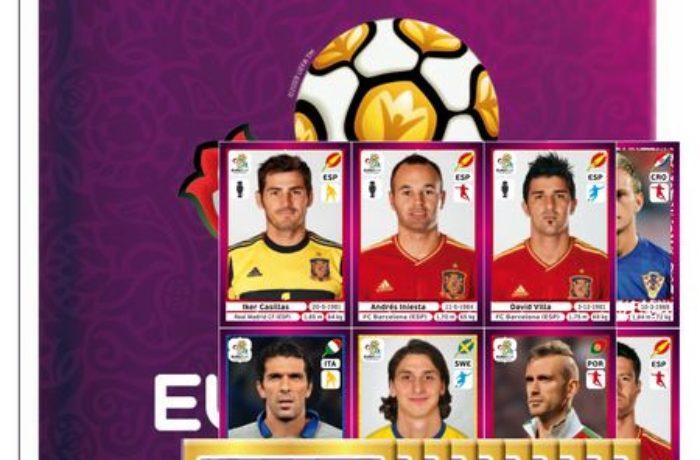 Das Panini Heft zur Fußball EM 2012