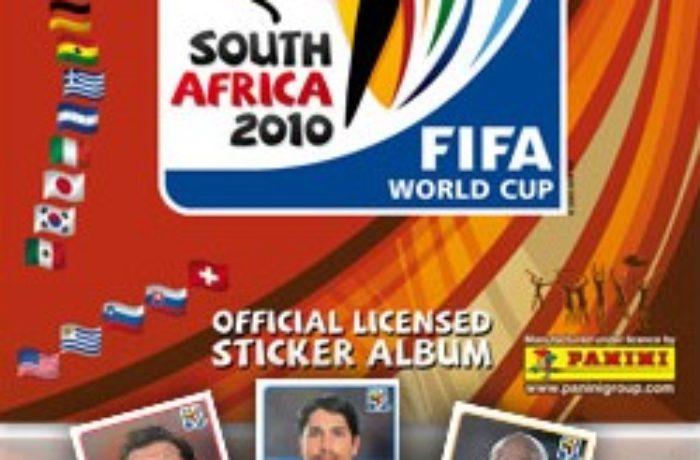 Das Panini Heft zur Fußball WM 2010