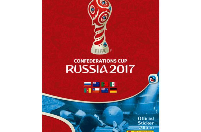 Das Panini Heft zum Confed Cup 2017
