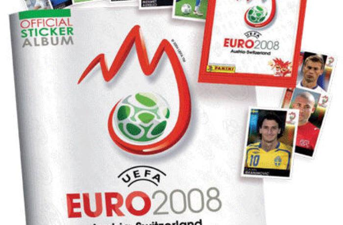 Das Panini Sticker zur Fußball EM 2008