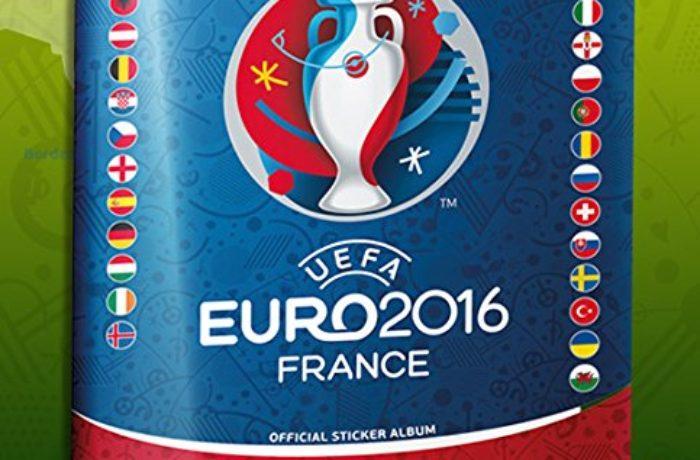 Das Panini Sticker zur Fußball EM 2016