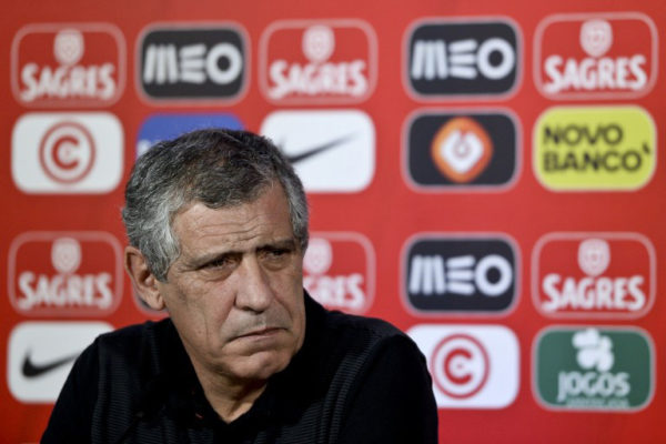 Fernando Santos: Nationaltrainer von Portugal. Copyright: AFP.