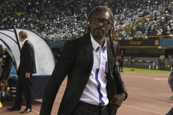Senegals Trainer Aliou Cisse. Copyright: AFP.