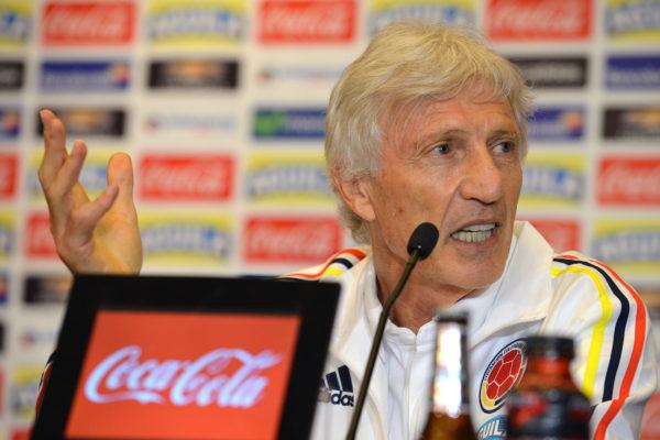 Jose Pekerman: Der Argentinier trainiert bei dieser WM wieder die Mannschaft von Kolumbien. Copyright: AFP.