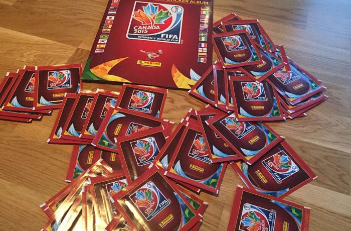 Das Panini Heft zur Frauen Fußball WM 2015