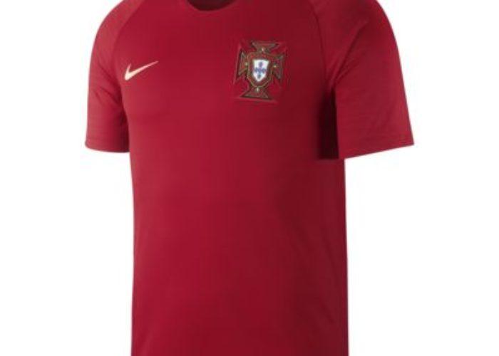 Das neue Heimtrikot zur WM 2018, wieder traditionell in rot.