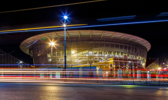 Die neu erbaute Jekaterinburg-Arena (foto Shutterstock)