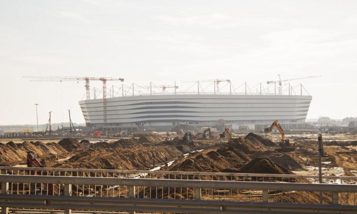 Das neue erbaute Kaliningrad-Stadion (Foto Shutterstock)
