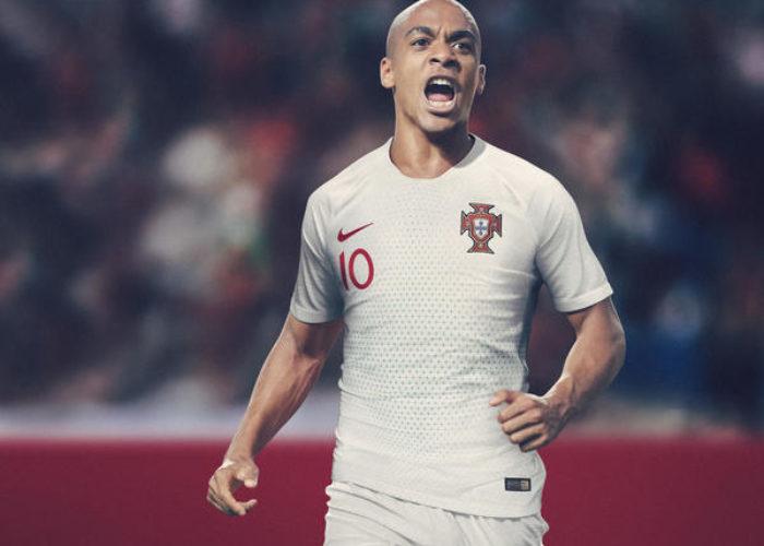 Das neue Auswärtstrikot von Europameister Portugal von nike 2018.