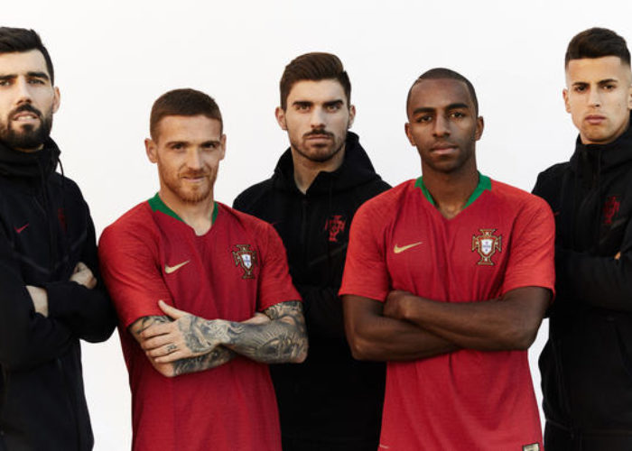 Das neue Heimtrikot von Europameister Portugal von nike 2018.