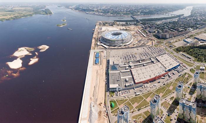 Das Nischni-Nowgorod-Stadion (Foto shutterstock=)