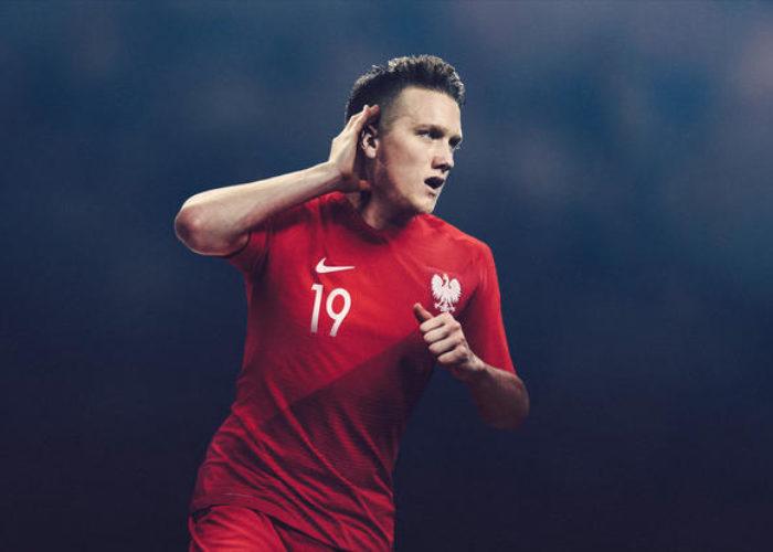 So soll das neue Auswärtstrikot der Polen für die WM aussehen!