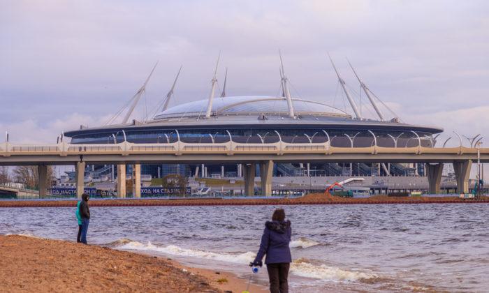 Das teuerster Stadion in Russland: Die St. Petersburg Arena (Foto shutterstock)