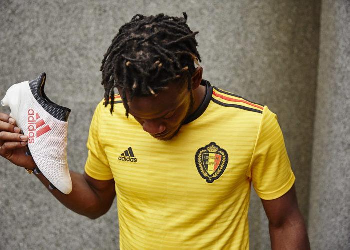 Das aktuelle Auswärtstrikot von Belgien von adidas 2018 (Foto Adidas)