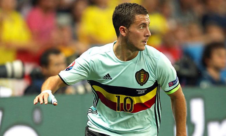 Eden Hazard, einer von vielen Superstars bei Belgien - wird er eine erfolgreiche WM 2018 spielen? (Foto Shutterstock)