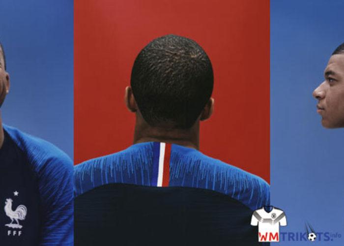 Das neue WM Awaytrikot 2018 von Frankreich / Nike