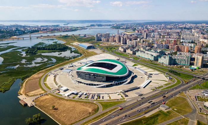 Die Kasan-Arena (Foto shutterstock)