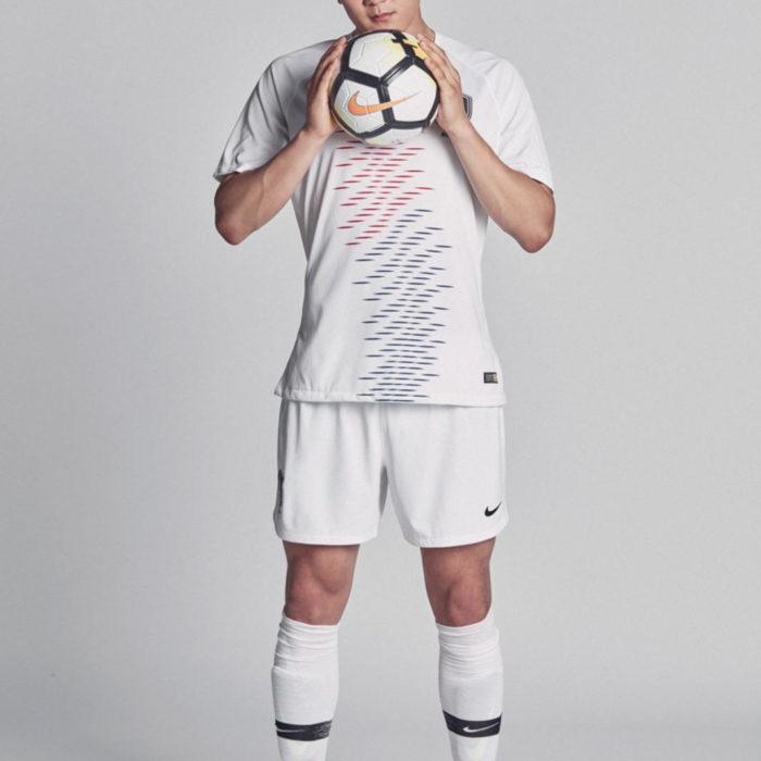 Das neue 2018 Away Trikot für Südkorea von Nike.