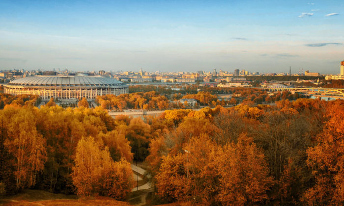 Das Luschniki Olympia Stadion in Moskau (Foto Shutterstock)