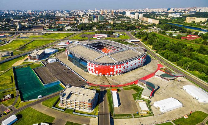 Das Spartak-stadion von Moskau (Shutterstock Fotos)