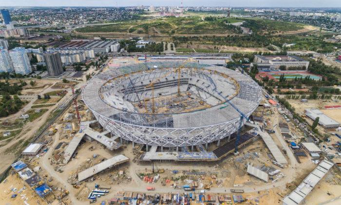 Das Wolgograd WM Stadion (Foto Shutterstock)