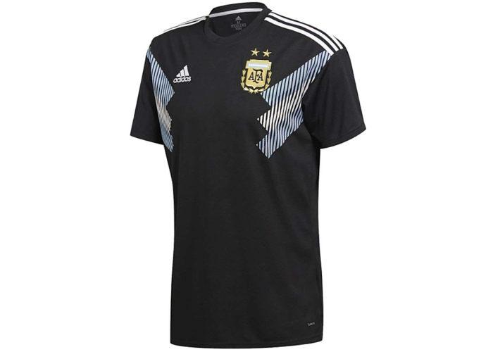 Das neue Adidas Auswärtstrikot von Argentinien. Photo: Adidas.
