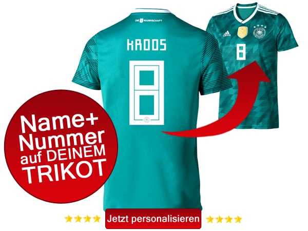Das neue grüne DFB Away Trikot kaufen!