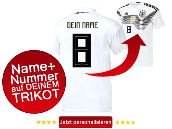 Jetzt das neue weiße deutsche Heimtrikot 2018 kaufen!