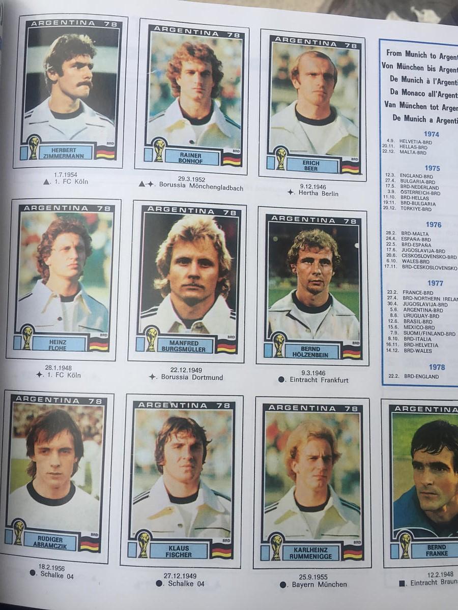 Fussball Wm 1978 Deutschland österreich
